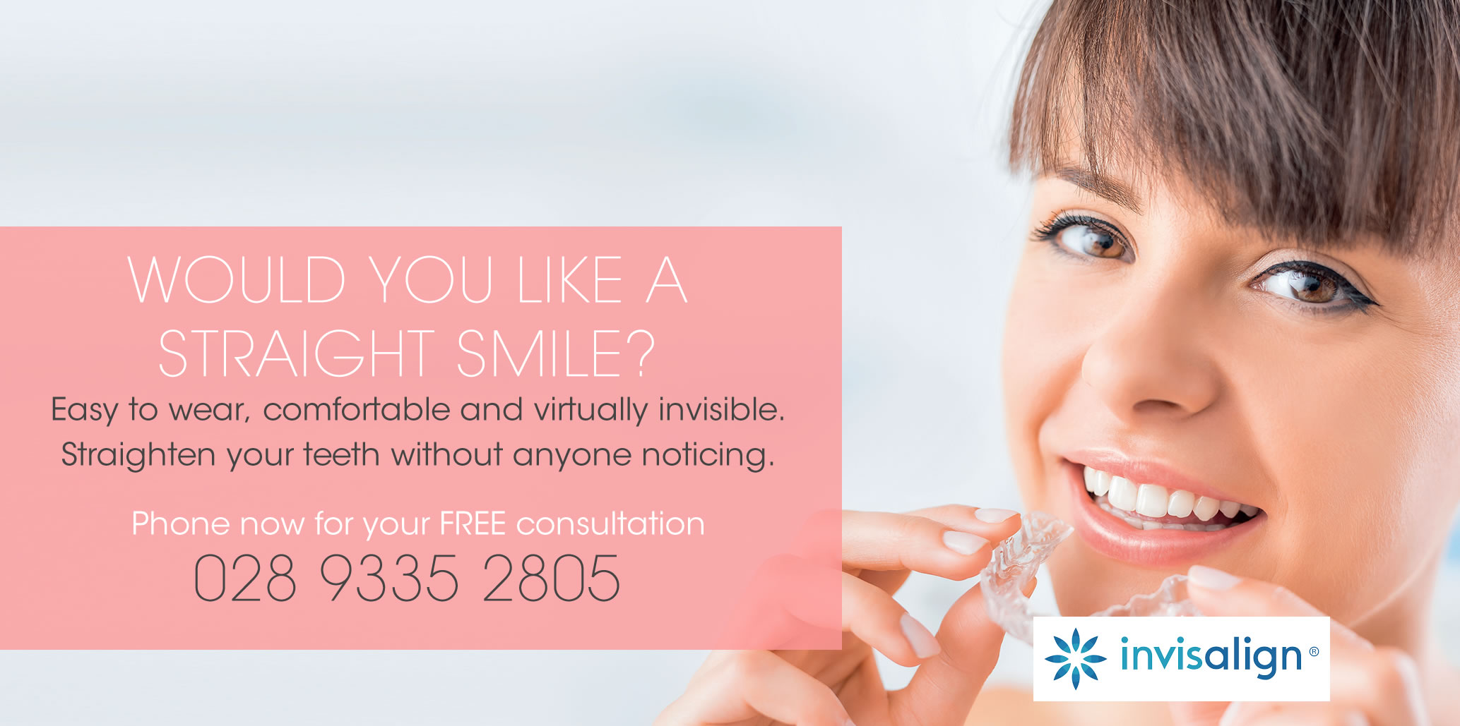 Invisalign at Ballyclare Dental Practice
